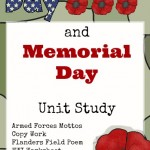 Veterans Day And Memorial Day Unit Study