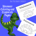 Coloring and Copywork Printables