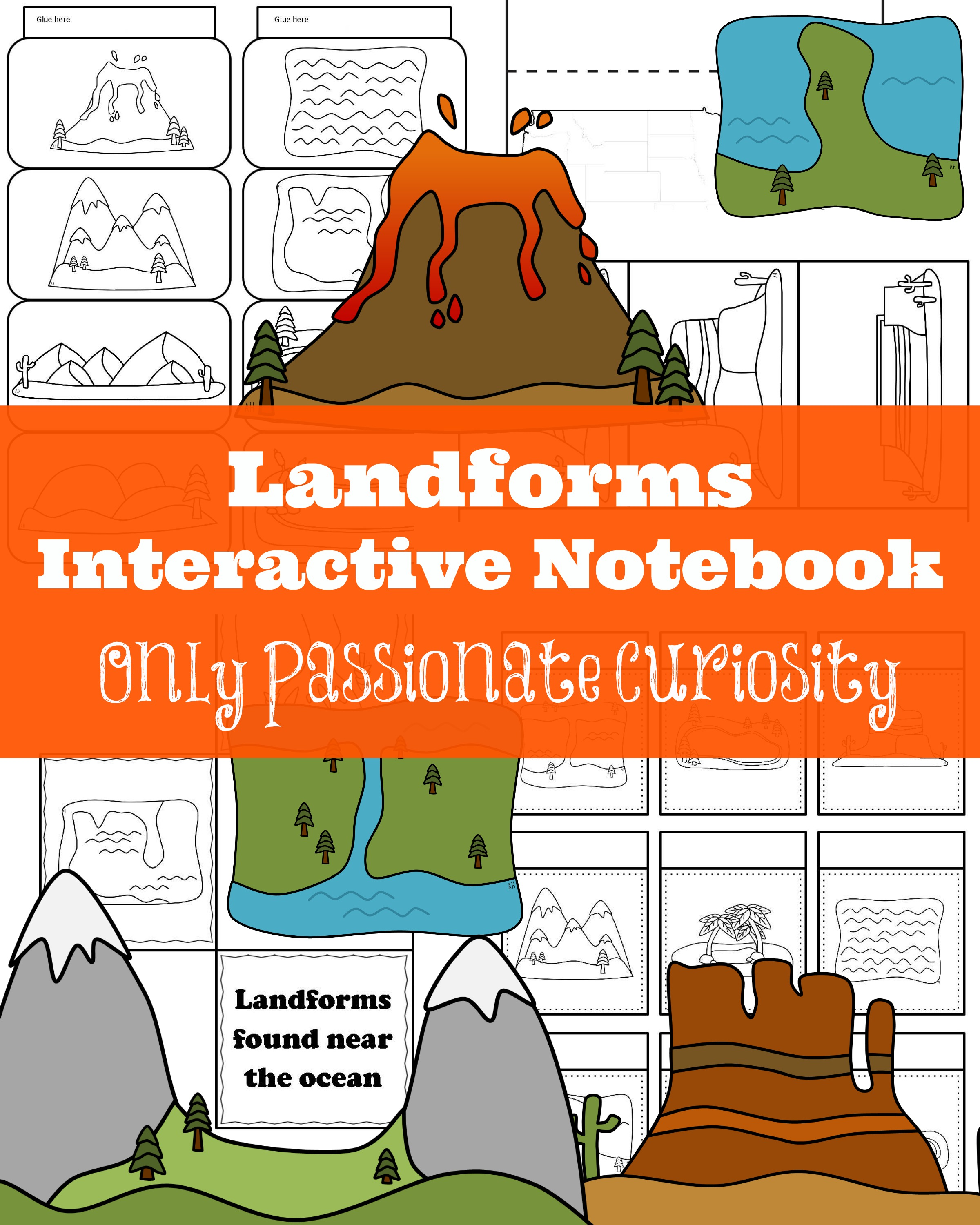 Landforms And Bodies Of Water Super Teacher Worksheets