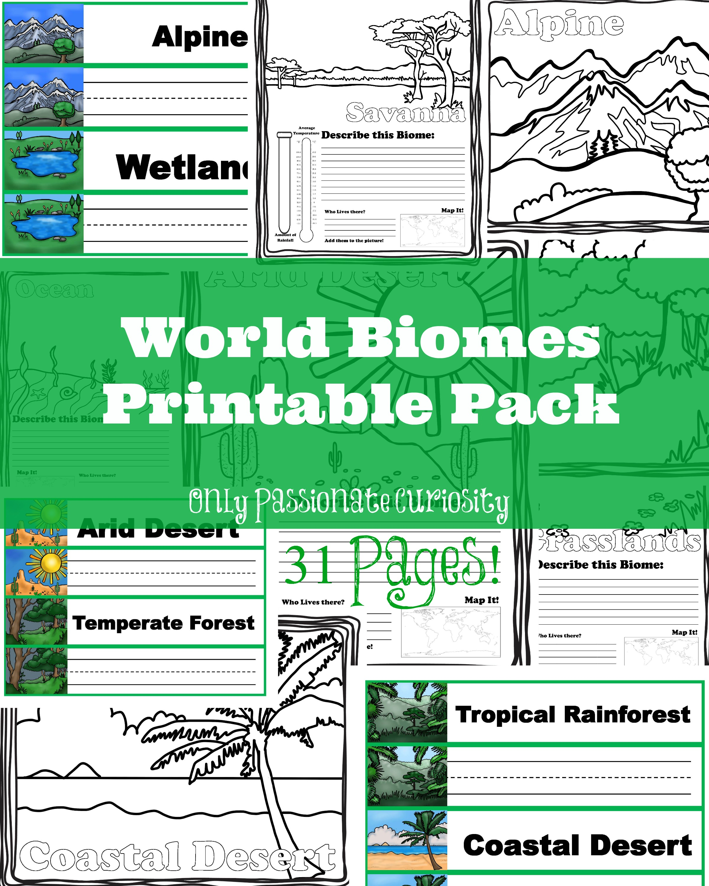 Free Printable Biome Worksheets For Kids free printable biome – Biome Worksheets