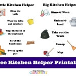 Kitchen Helper Printable