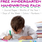 Kindergarten Handwriting