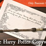 Dumbledore quote copywork