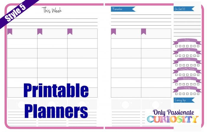 Planner Style 5