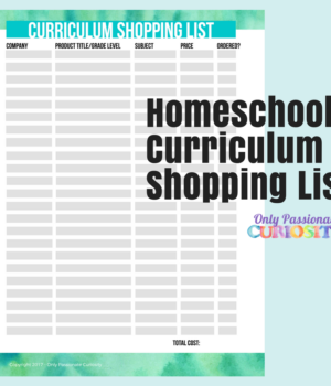 Homeschool Curriculum Shopping List (3)