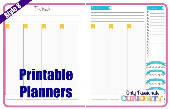 Planner Style 8