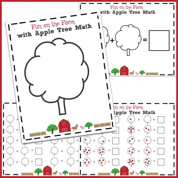 Apple Tree Math Pages