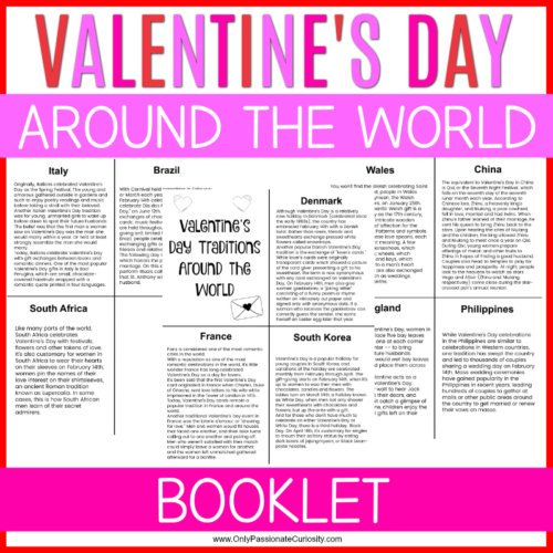 a study of Valentine's Day traditions around the world