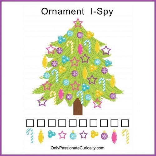 Christmas ornament I Spy
